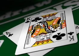 Blackjack gelijkspel